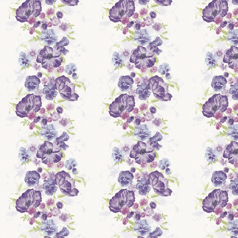 Grace Wallpaper - Pink / Lilac - by Kandola