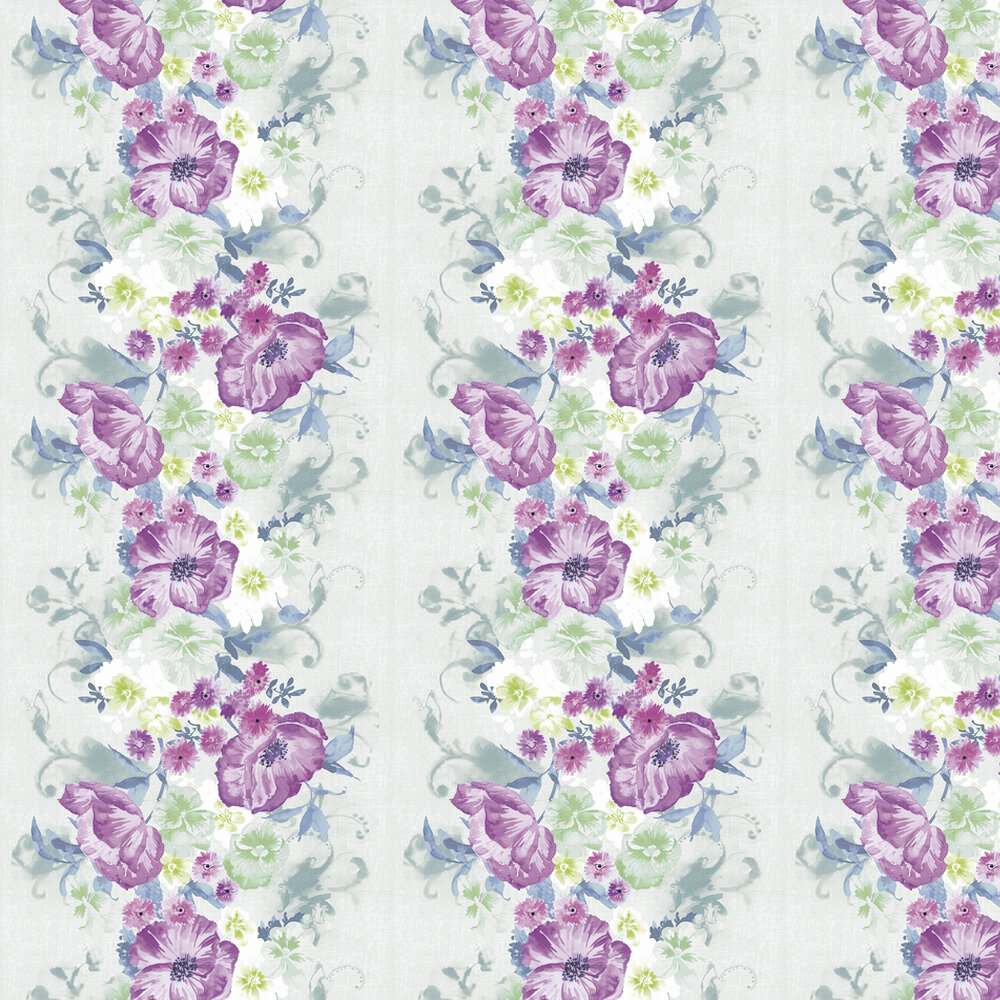 Kandola Grace Wallpaper Pink / Green - Product code: DW1572/02/215