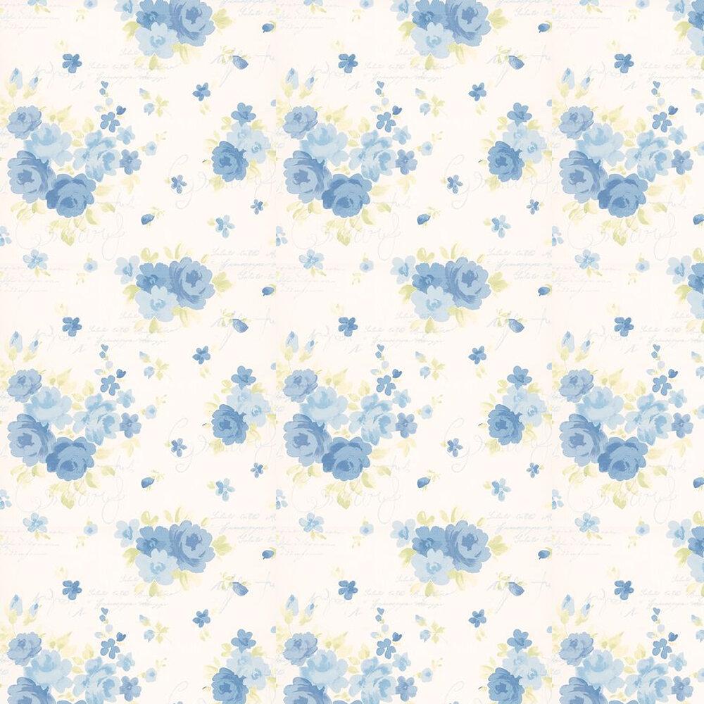Kandola Julia Wallpaper Blue / Green - Product code: DW1564/01
