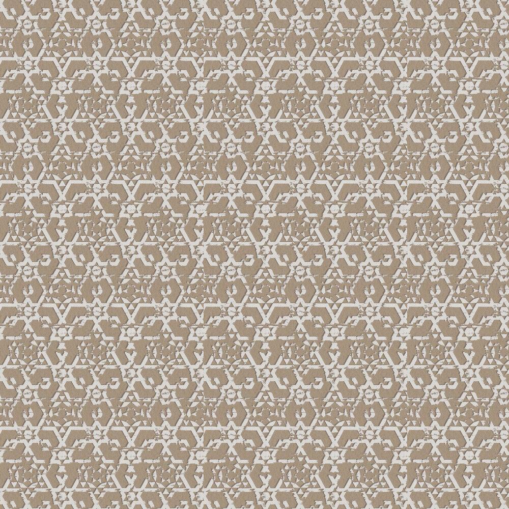 Carlucci di Chivasso Symbolic White / Metallic Silver Wallpaper - Product code: CA8172/070