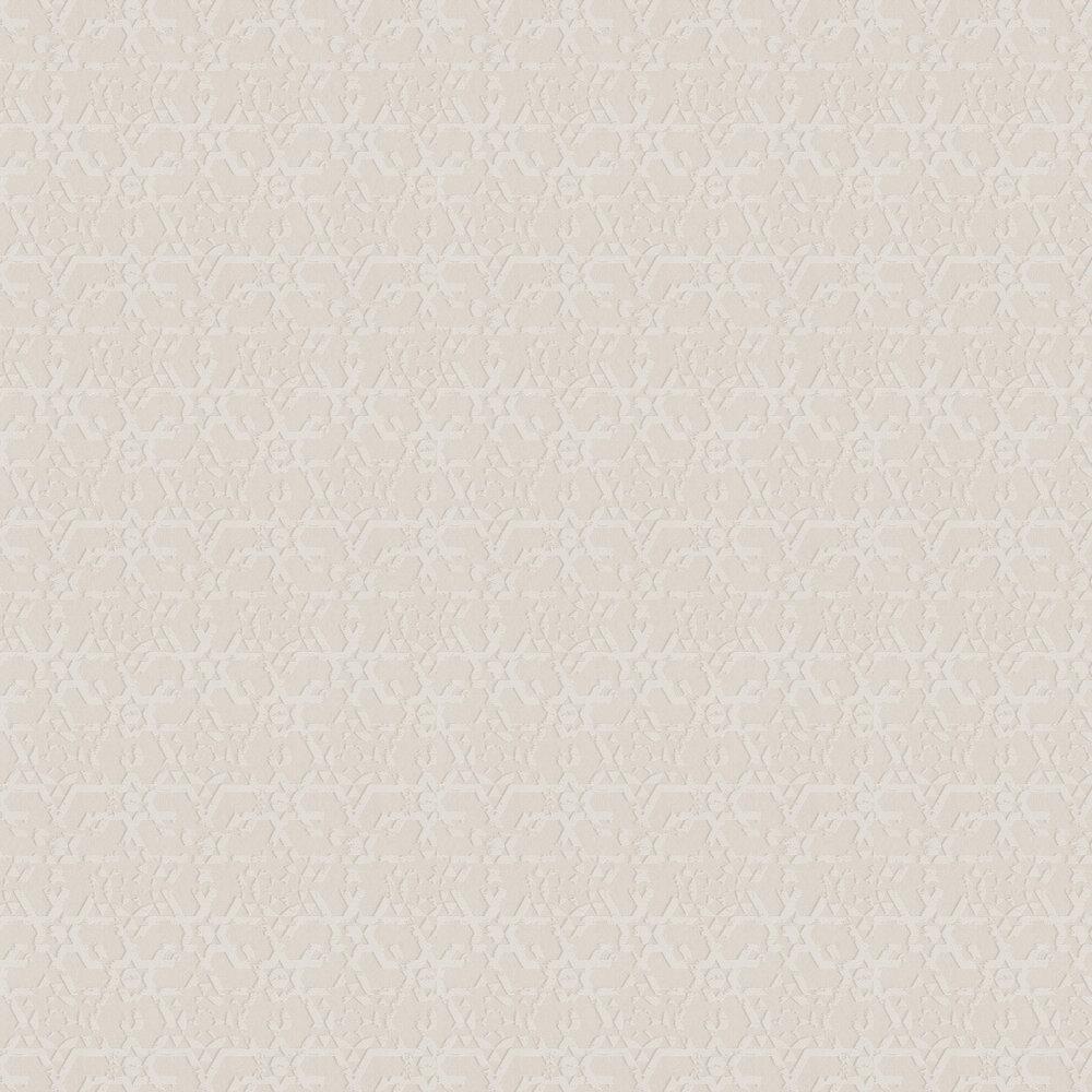 Carlucci di Chivasso Symbolic Cream / Metallic White Wallpaper - Product code: CA8172/090
