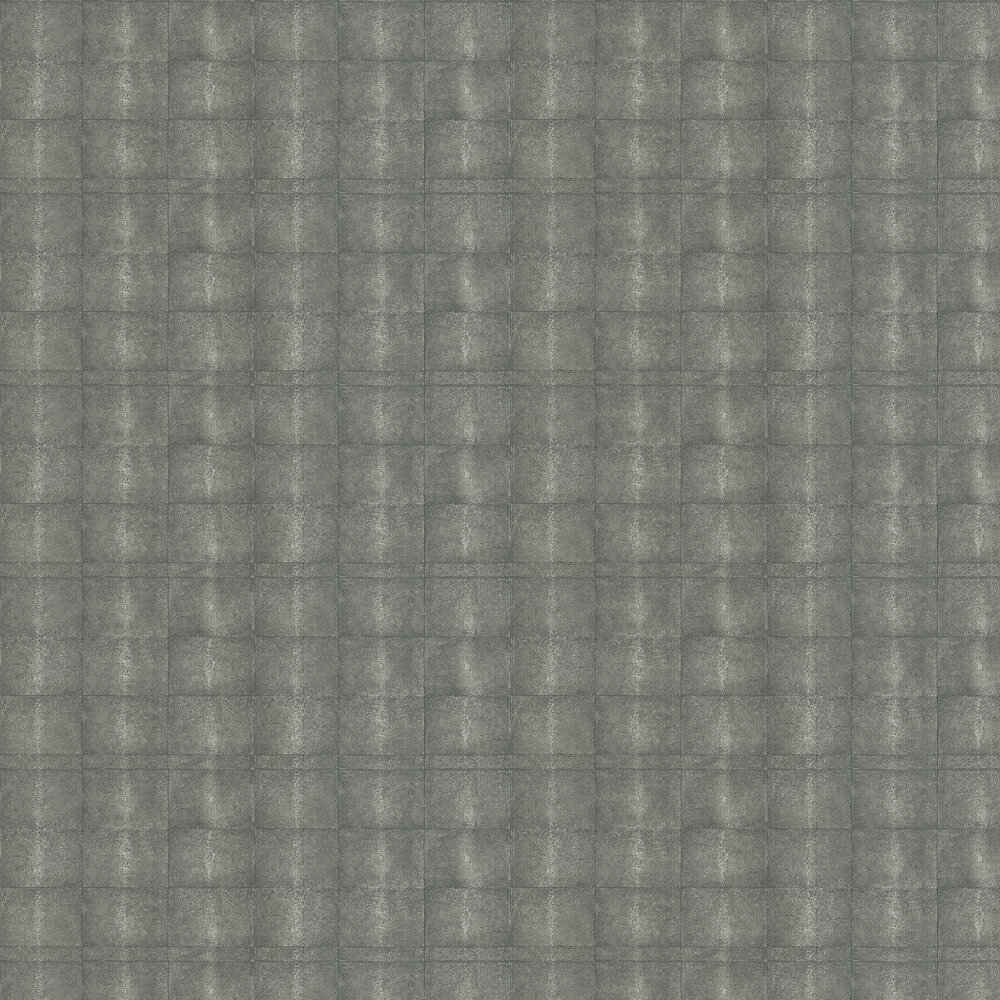 Galuchat Wallpaper - Grey - by Andrew Martin