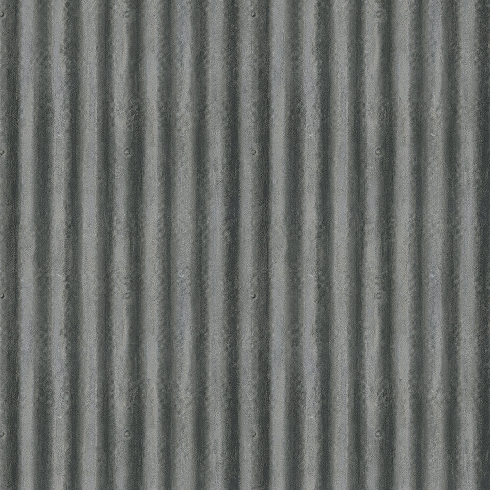 Andrew Martin Palmer Steel Wallpaper - Product code: PA02-STEEL