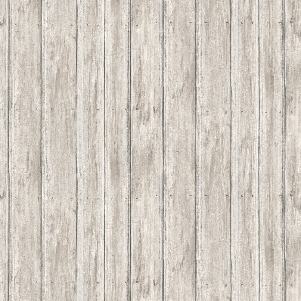 Timber Wallpaper - Lime Grey - by Andrew Martin