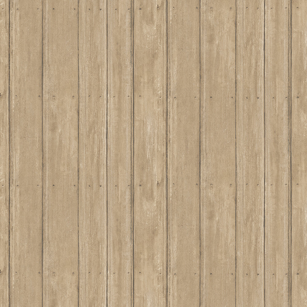 Timber Wallpaper - Oak - by Andrew Martin