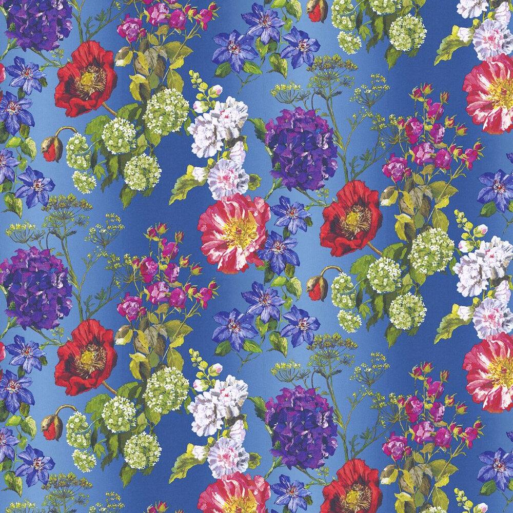 Designers Guild Alexandria Lapis Multi Wallpaper - Product code: P623/01