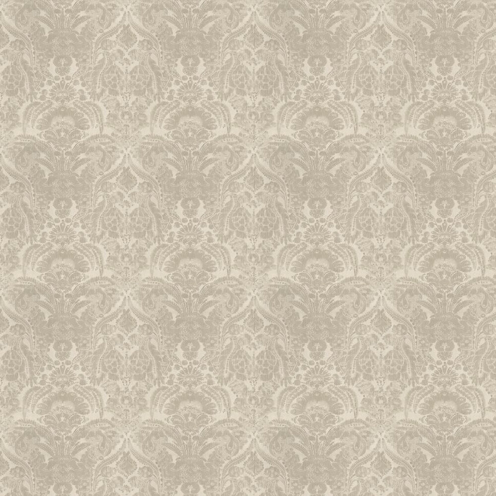 Kew Wallpaper - Taupe - by Andrew Martin