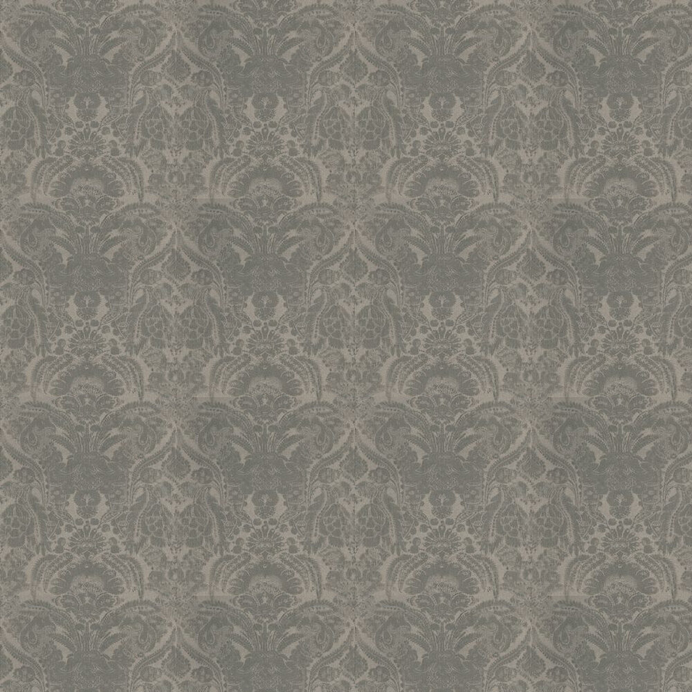 Kew Wallpaper - Charcoal - by Andrew Martin