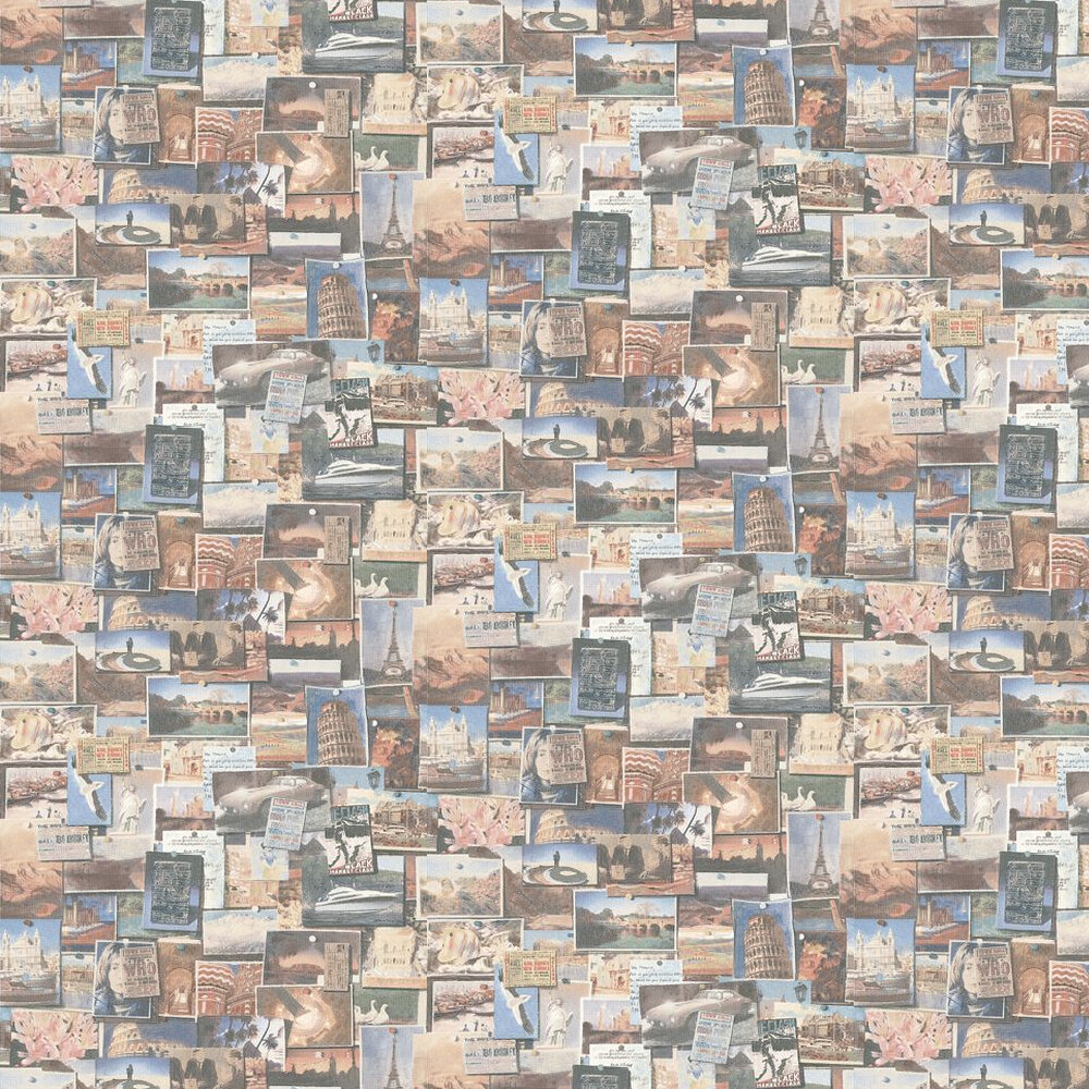 Pinboard Wallpaper - Multi - by Andrew Martin
