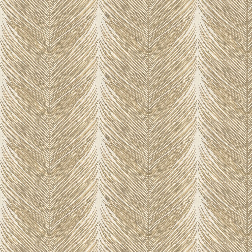 Nina Campbell Mey Fern Gold Wallpaper - Product code: NCW4154-01