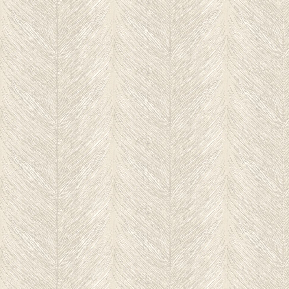 Nina Campbell Mey Fern White / Silver Wallpaper - Product code: NCW4154-04