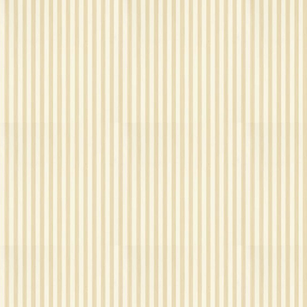 Closet Stripe Wallpaper - Cord / Beige - by Farrow & Ball