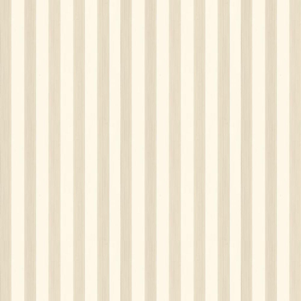 Farrow & Ball Five Over Stripe Stone / Cream Wallpaper - Product code: BP 612