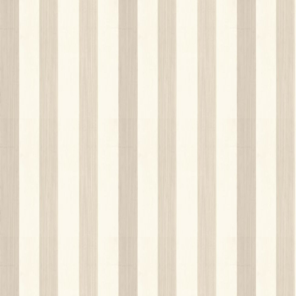 Farrow & Ball Plain Stripe Stone / Cream Wallpaper - Product code: BP 1173