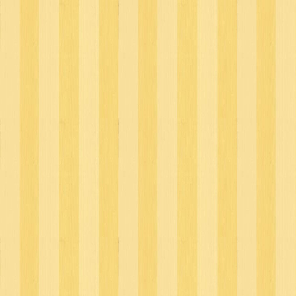 Farrow & Ball Plain Stripe Buttercup Yellow Wallpaper - Product code: BP 1139