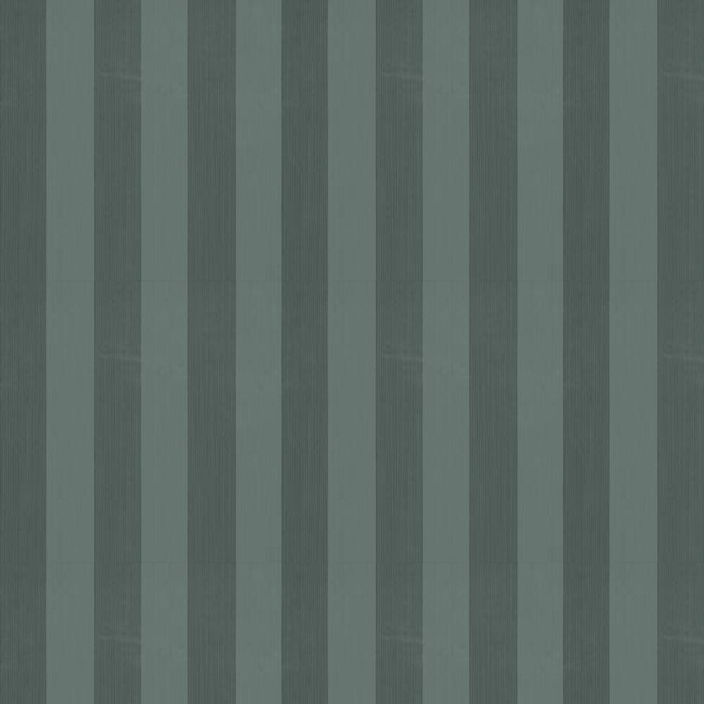 Farrow & Ball Plain Stripe Amazon Green Wallpaper - Product code: BP 1166