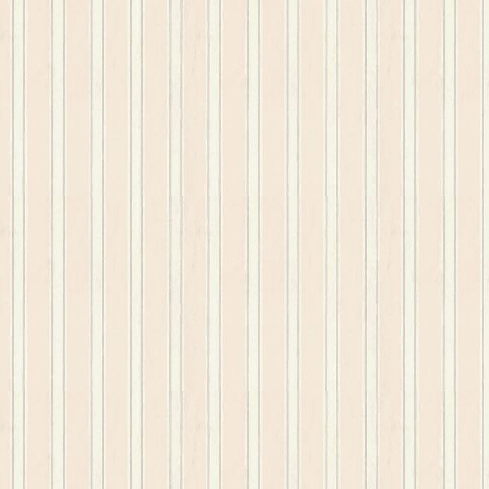 Farrow & Ball Block Print Stripe Cream / Off White / Taupe Wallpaper - Product code: BP 701