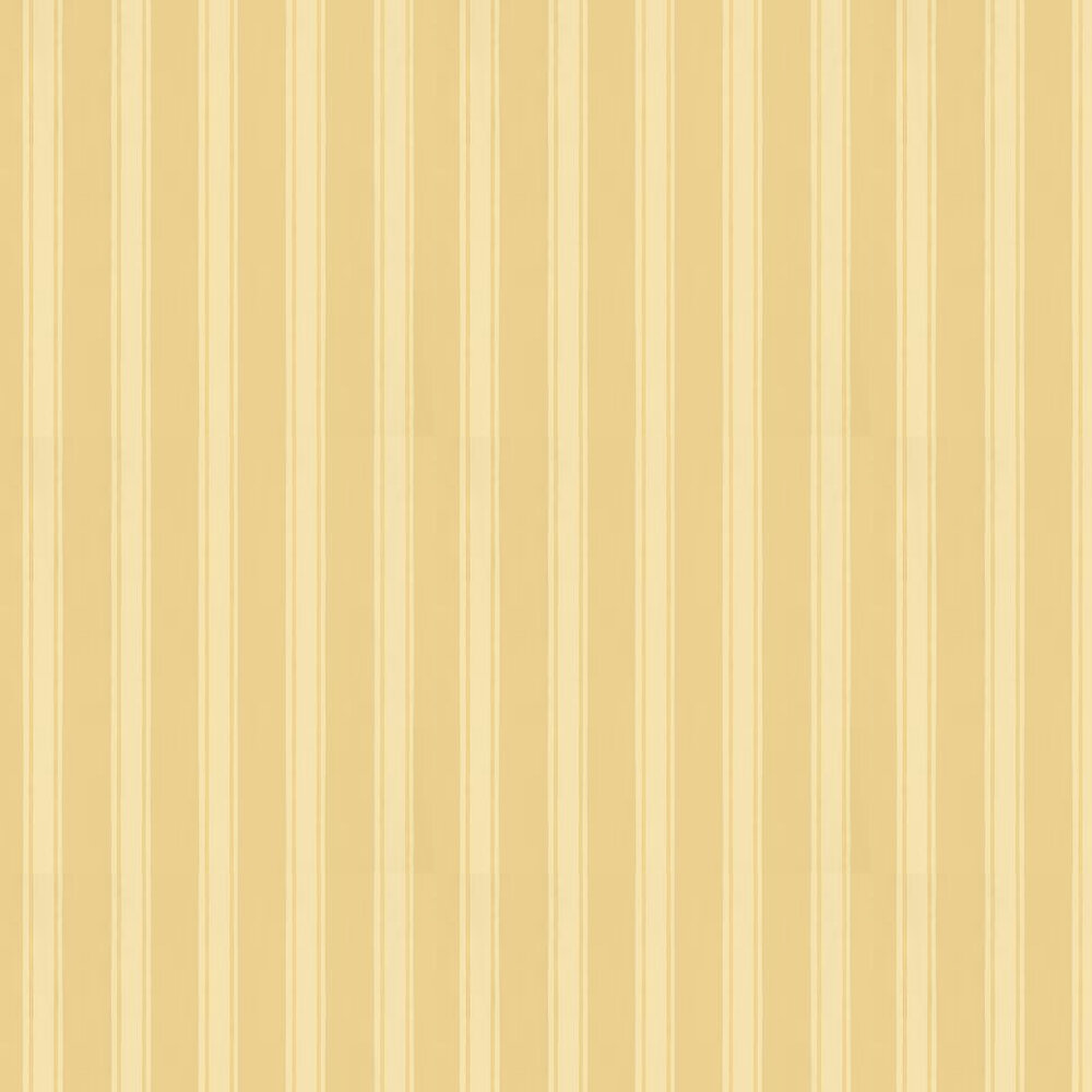 Farrow & Ball Block Print Stripe Yellow Wallpaper - Product code: BP 732