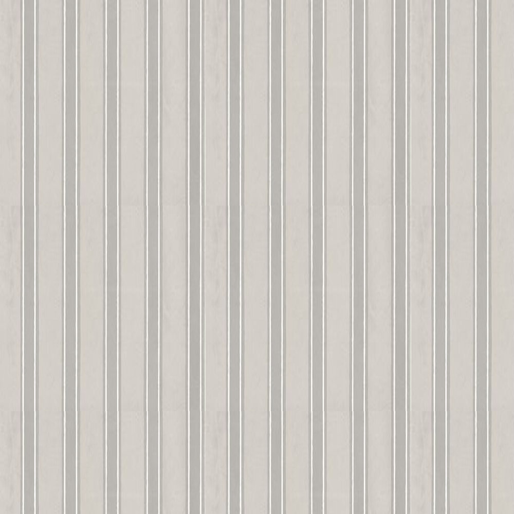 Farrow & Ball Block Print Stripe Grey / White Wallpaper - Product code: BP 757