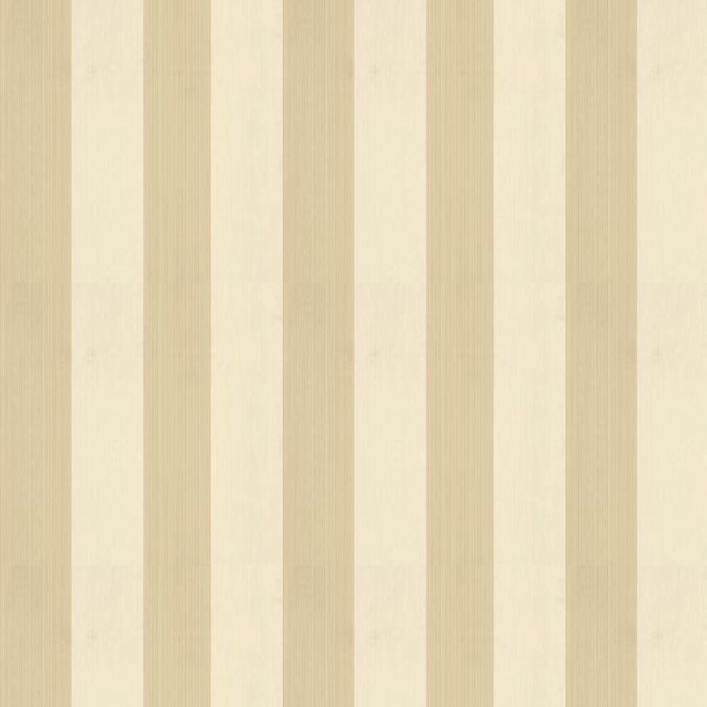 Farrow & Ball Broad Stripe Cream / Caramel Wallpaper - Product code: BP 1309
