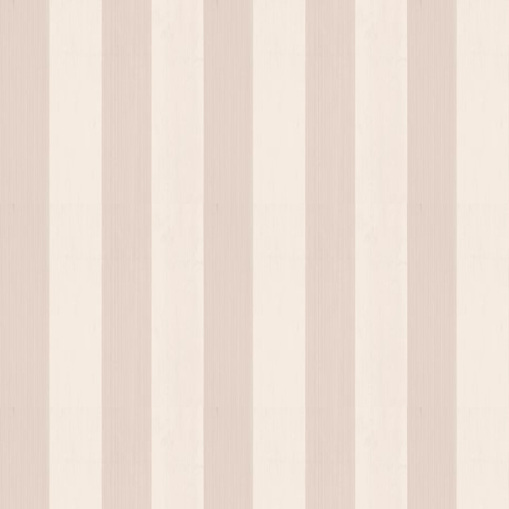Farrow & Ball Broad Stripe Pink / Off White Wallpaper - Product code: BP 1314