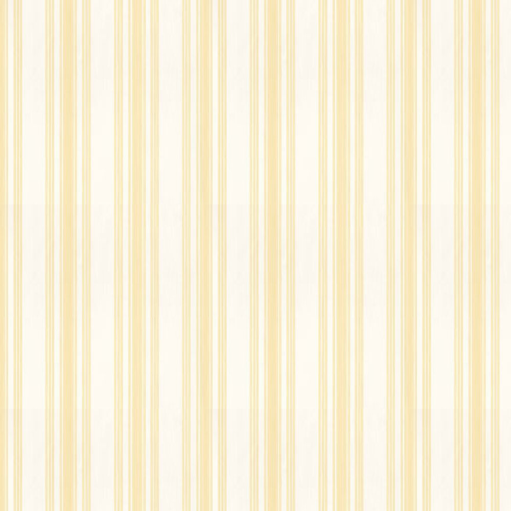 Farrow & Ball Tented Stripe Butter / Off White Wallpaper - Product code: BP 1356