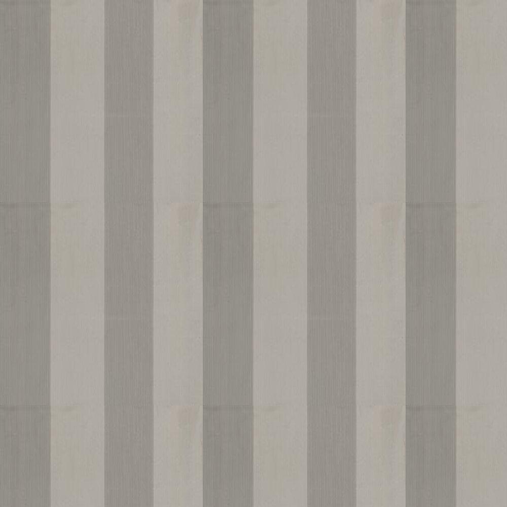 Broad Stripe Wallpaper - Grey - by Farrow & Ball