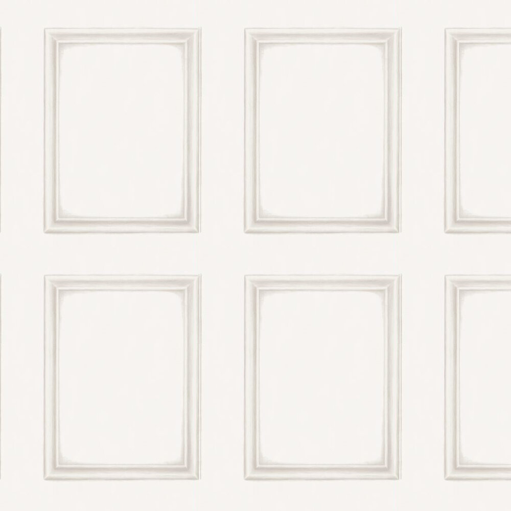 Cole & Son Library Panel Off White Wallpaper - Product code: 98/7025