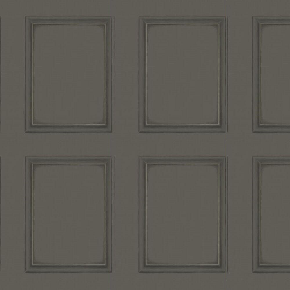 Cole & Son Library Panel Midnight Black Wallpaper - Product code: 98/7031