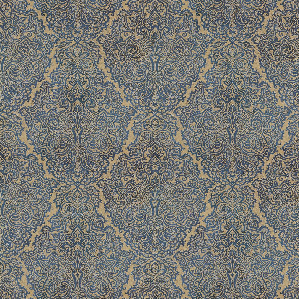 Harlequin Aurelia Sapphire Sapphire / Gold Wallpaper - Product code: 110642