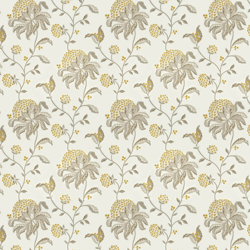 G P & J Baker Silwood Linen / Yellow Wallpaper - Product code: BW45045/1