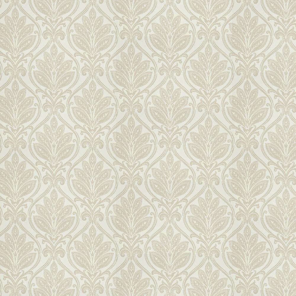 G P & J Baker Ryecote Damask Ivory / Linen Wallpaper - Product code: BW45048/4