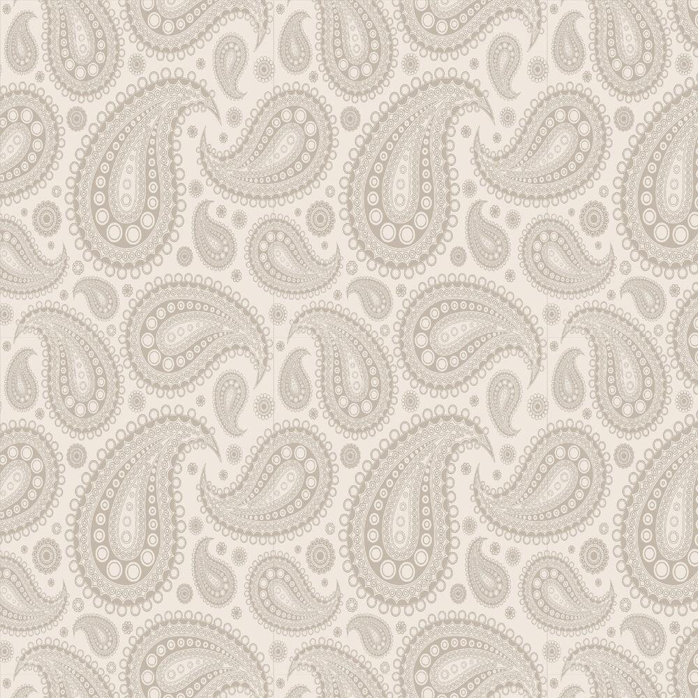Opus Muras Cravat Grey / Silver Wallpaper - Product code: OMGR07112