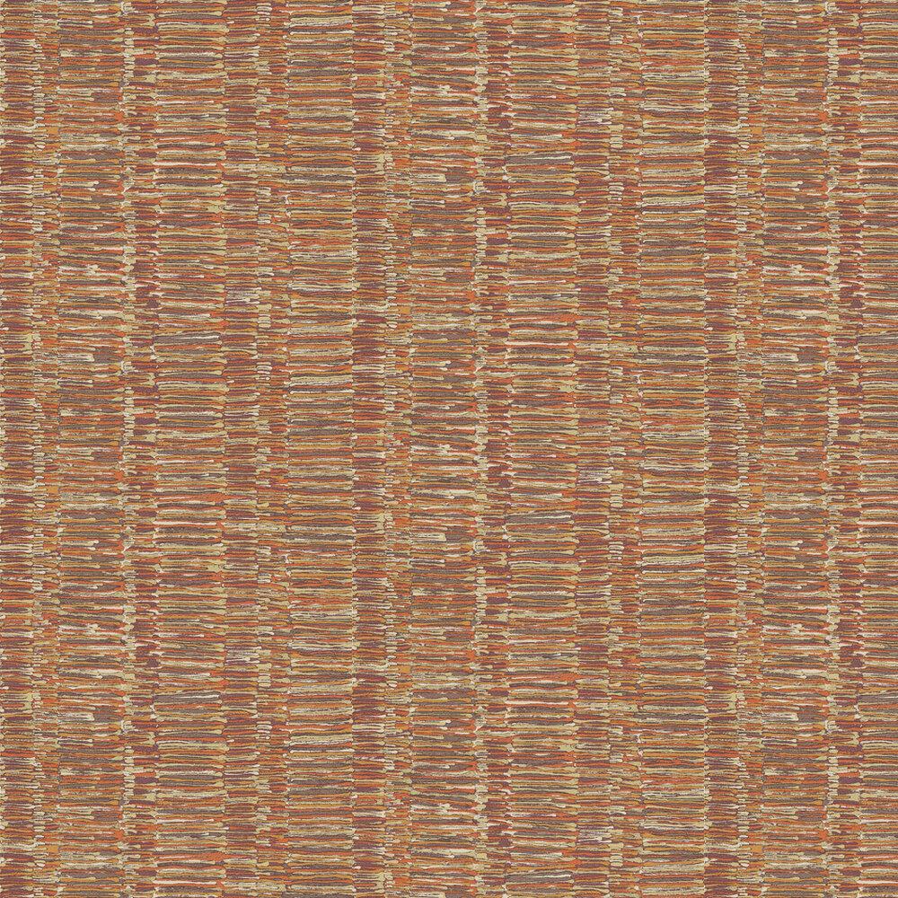 Stratum Wallpaper - Orange / Red / Gold - by Threads