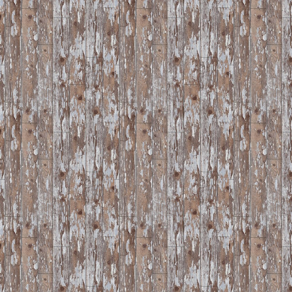 Cabin Wood Wallpaper - Brown / Grey - by Arthouse