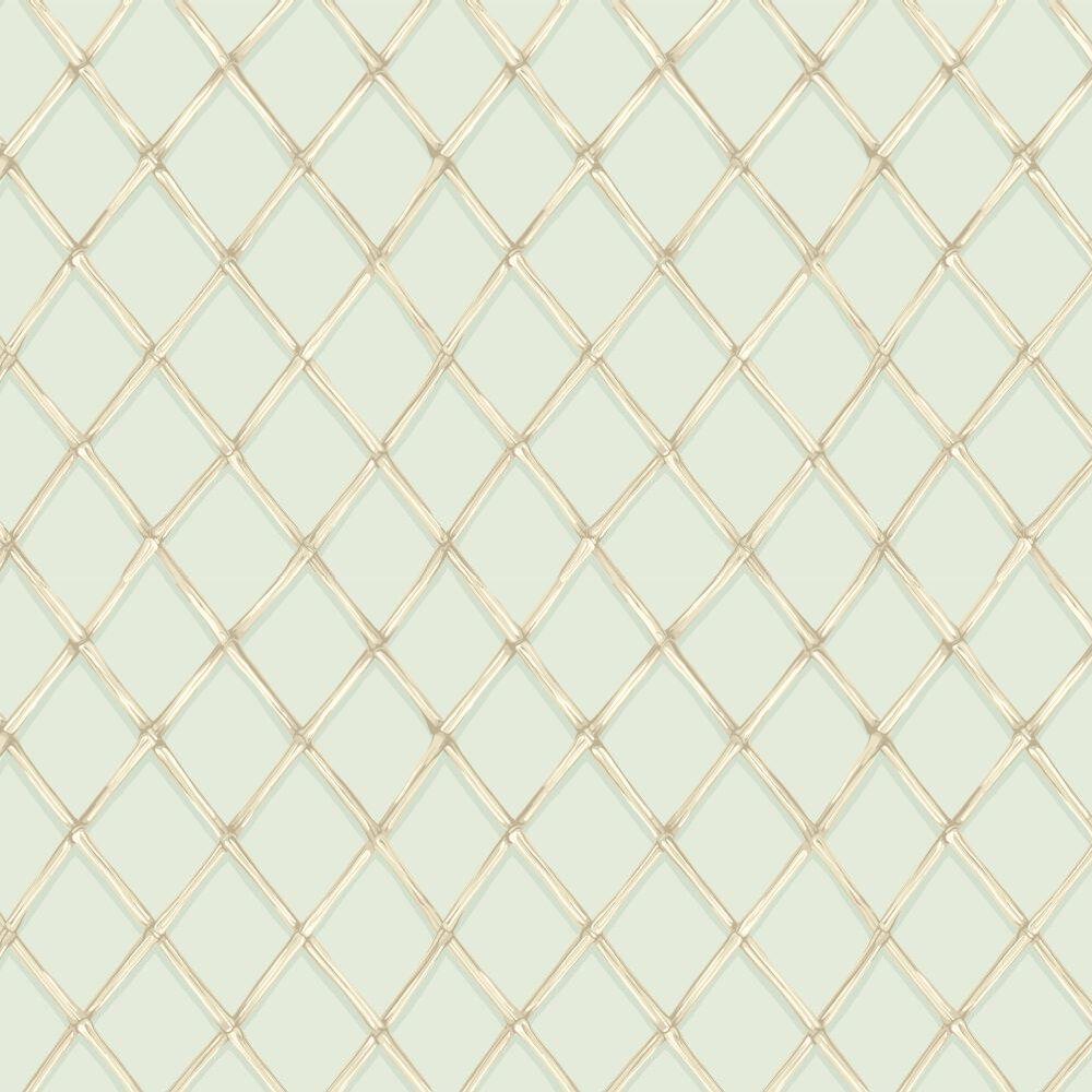 Cole & Son Bagatelle Duck Egg Wallpaper - Product code: 99/5025