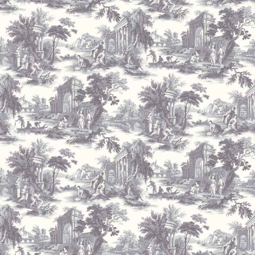 Cole & Son Villandry Charcoal Grey Wallpaper - Product code: 99/1003