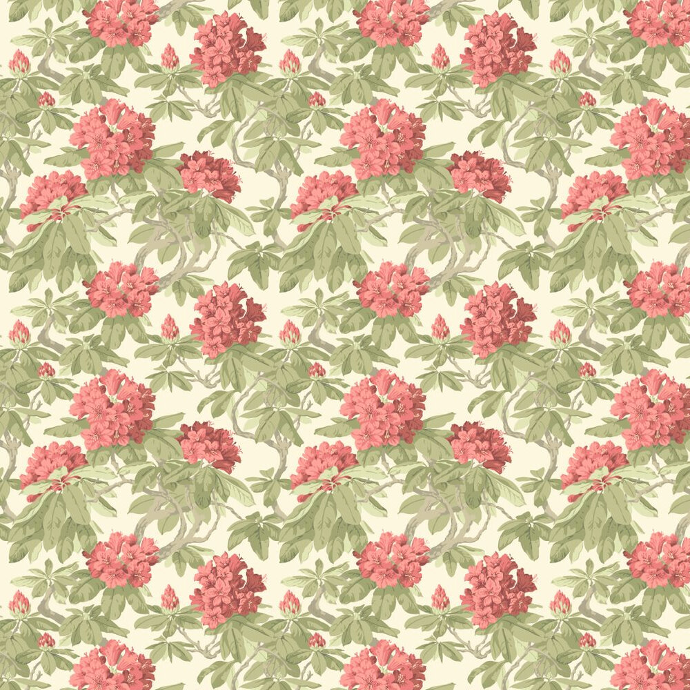 Cole & Son Bourlie Coral Wallpaper - Product code: 99/4020