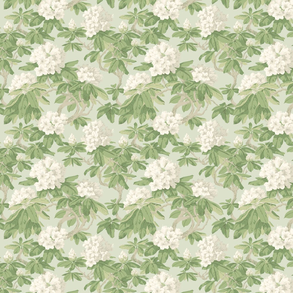 Cole & Son Bourlie Duck Egg Wallpaper - Product code: 99/4022