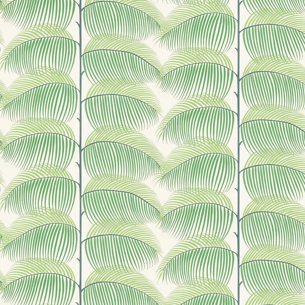 Sanderson Manila Green Wallpaper - Product code: 213367