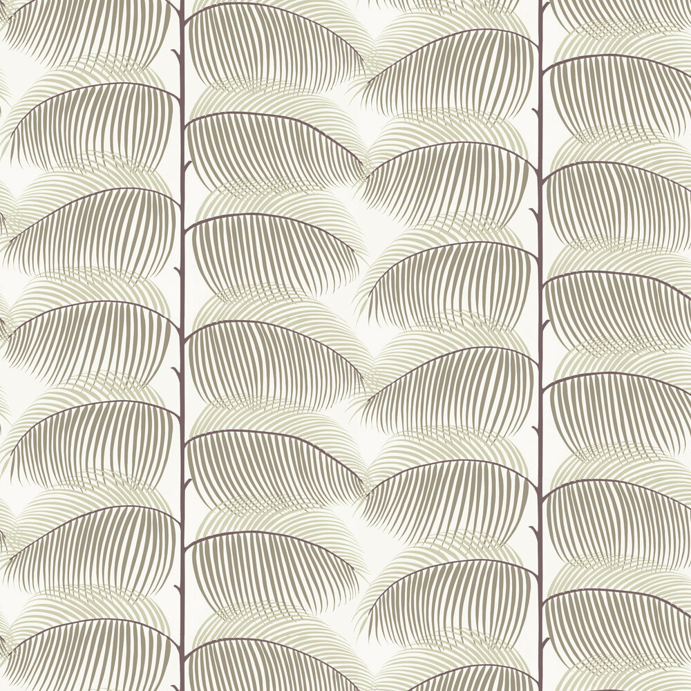 Sanderson Manila Brown / Taupe Wallpaper - Product code: 213368