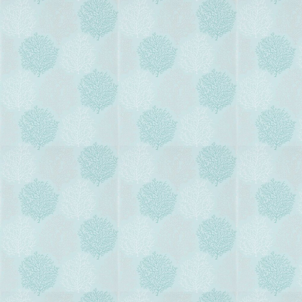Sanderson Coral Reef Blue Wallpaper - Product code: 213394