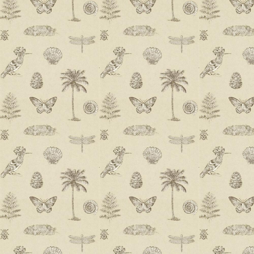 Sanderson Cocos Cream / Sepia Wallpaper - Product code: 213381