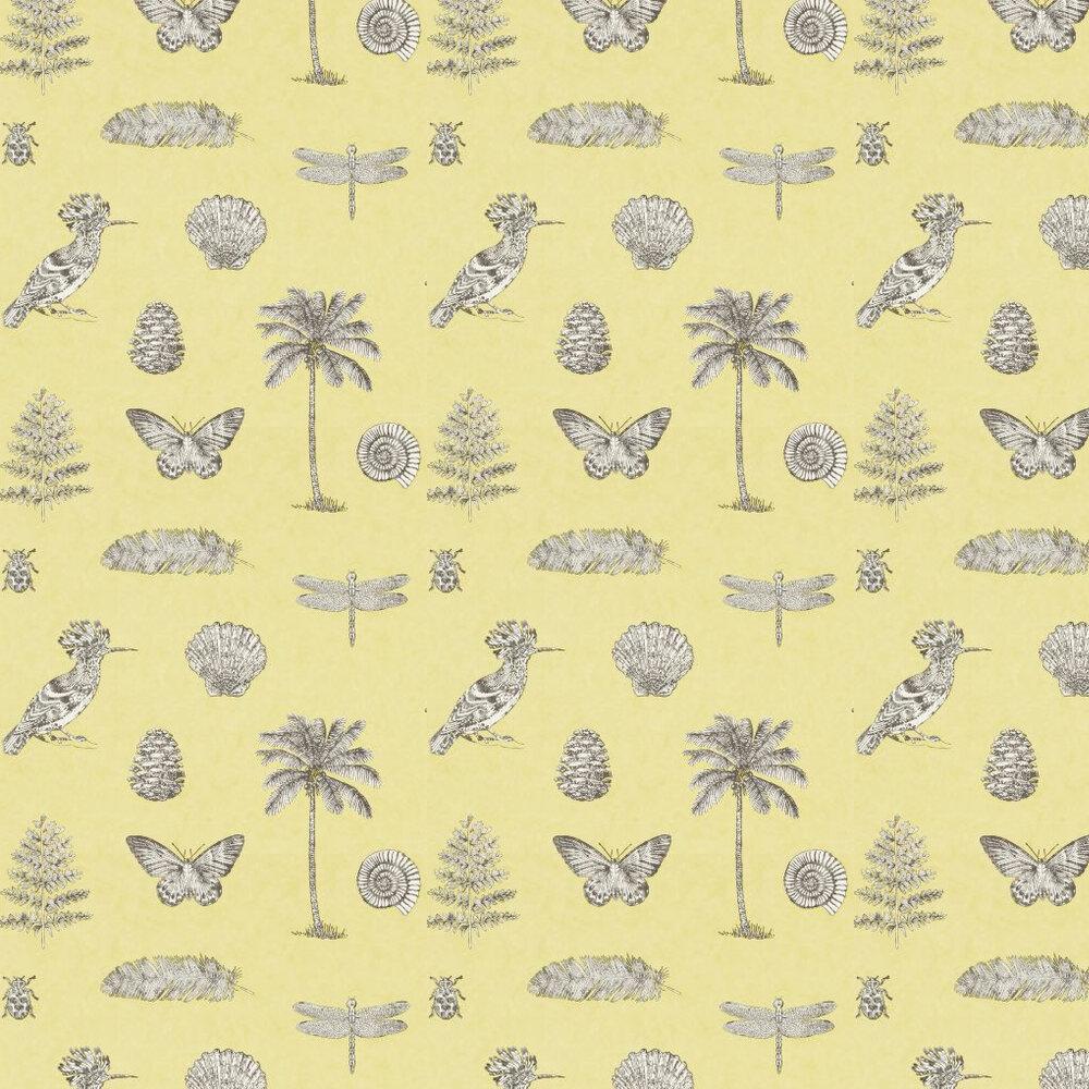 Sanderson Cocos Yellow Wallpaper - Product code: 213382
