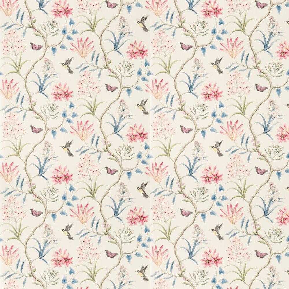 Sanderson Clementine Damson / Blue Wallpaper - Product code: 213387