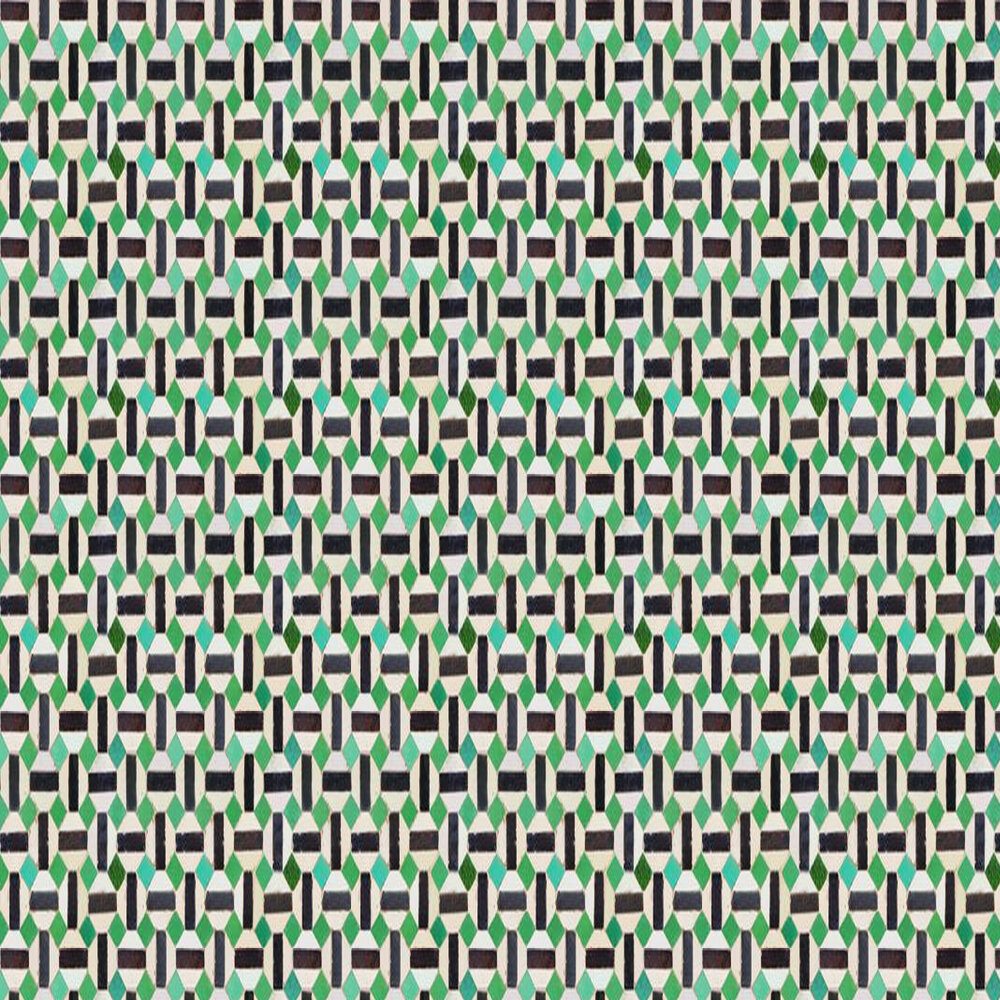 Coordonne Toro Black / Green Wallpaper - Product code: 3000036