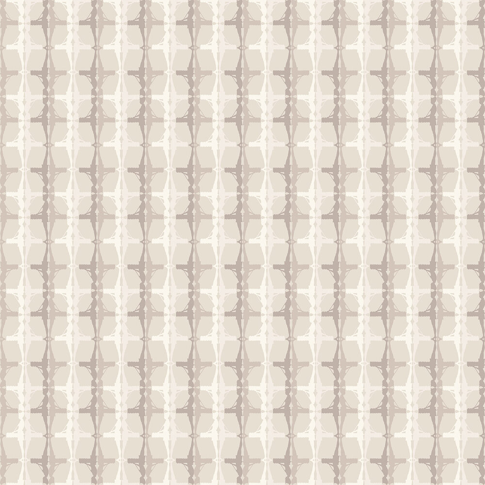 Interval Wallpaper - Beige / Off White - by Albany