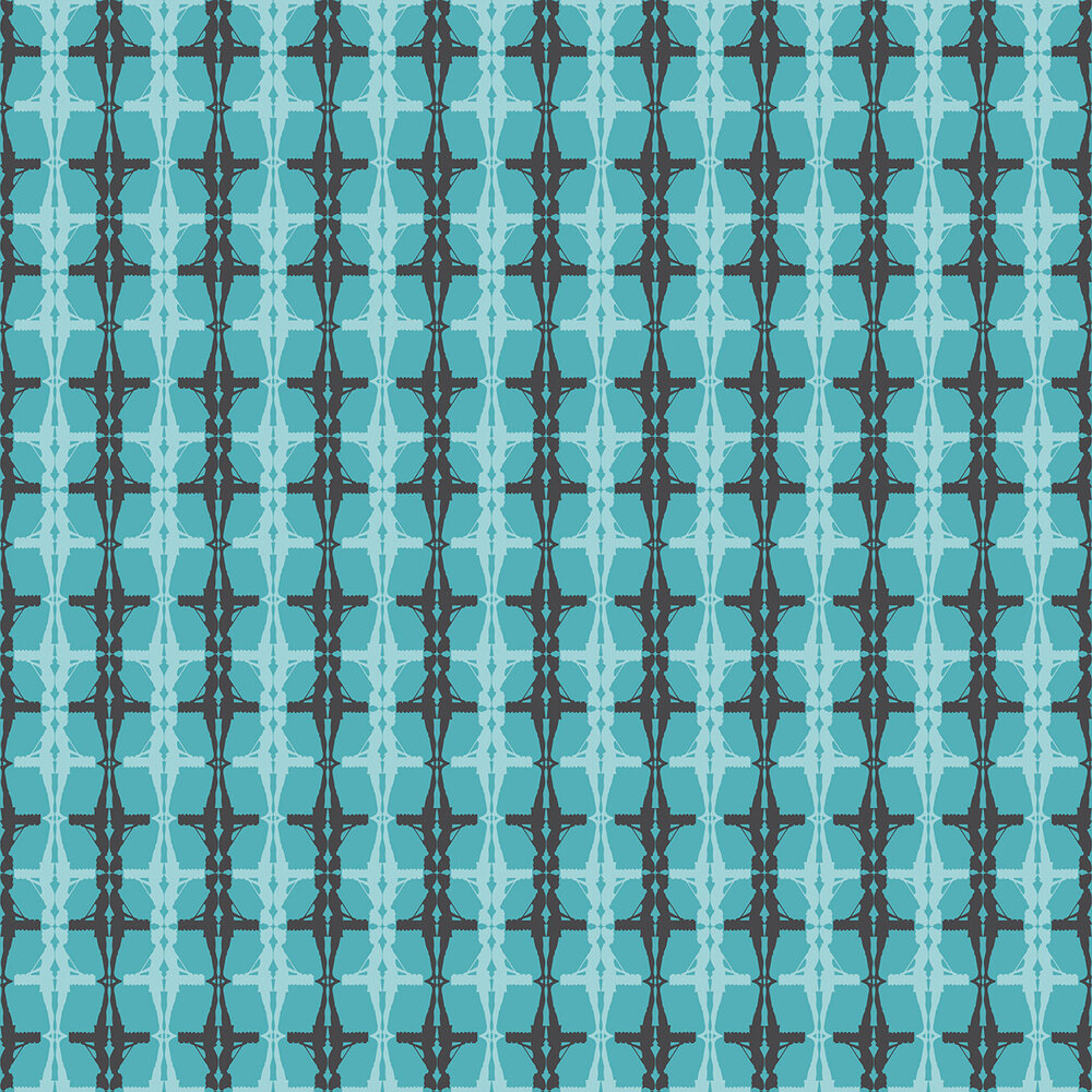 Albany Interval Teal Wallpaper - Product code: 264226