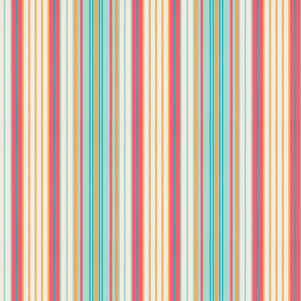 Harlequin Bardez Coral / Sapphire Wallpaper - Product code: 110669