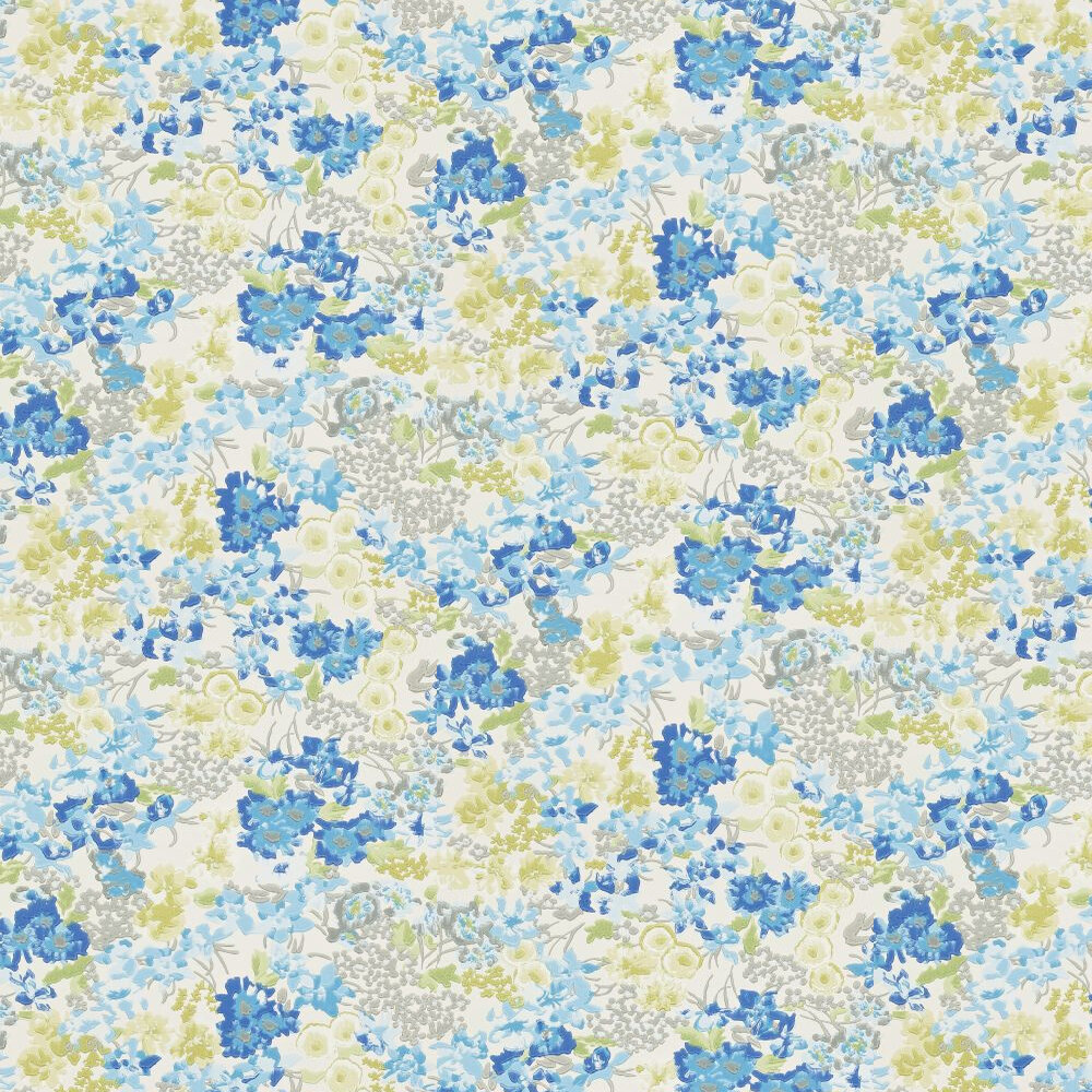 Harlequin Florica Grey / Blue Wallpaper - Product code: 110662